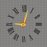 ρολόι διακοσμητικό Στοκ φωτογραφία με δικαίωμα ελεύθερης χρήσης