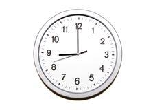ρολόι εννέα ο Στοκ φωτογραφία με δικαίωμα ελεύθερης χρήσης
