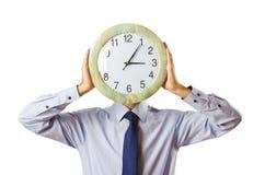 ρολόι επιχειρηματιών που  στοκ φωτογραφία με δικαίωμα ελεύθερης χρήσης