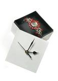 ρολόι κιβωτίων Στοκ Εικόνες