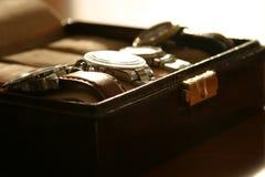 ρολόι κιβωτίων Στοκ φωτογραφίες με δικαίωμα ελεύθερης χρήσης