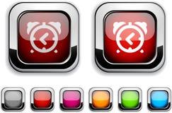 ρολόι κουμπιών συναγερμώ& ελεύθερη απεικόνιση δικαιώματος