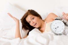 ρολόι κρεβατοκάμαρων συ στοκ εικόνες