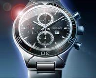ρολόι λεπτομέρειας Στοκ Εικόνα