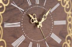 ρολόι ξύλινο Στοκ φωτογραφίες με δικαίωμα ελεύθερης χρήσης