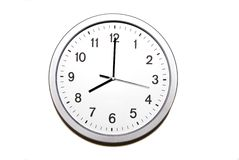 ρολόι οκτώ ο Στοκ φωτογραφία με δικαίωμα ελεύθερης χρήσης