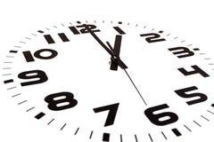 ρολόι ο ένα Στοκ φωτογραφία με δικαίωμα ελεύθερης χρήσης