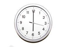 ρολόι ο έξι Στοκ Εικόνες