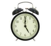 ρολόι πέντε Στοκ Εικόνες