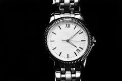 Ρολόι παλαιών χεριών για το εκλεκτής ποιότητας ύφος ατόμων στοκ εικόνα