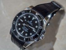 Ρολόι πολυτέλειας της Rolex Στοκ εικόνες με δικαίωμα ελεύθερης χρήσης