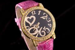 ρολόι πολυτέλειας Στοκ φωτογραφία με δικαίωμα ελεύθερης χρήσης