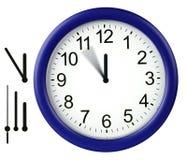 ρολόι που απομονώνεται γ Στοκ φωτογραφία με δικαίωμα ελεύθερης χρήσης