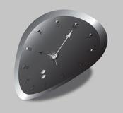 ρολόι που διαστρεβλώνε&ta Στοκ Φωτογραφίες
