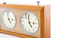 ρολόι σκακιού 2 Στοκ φωτογραφίες με δικαίωμα ελεύθερης χρήσης