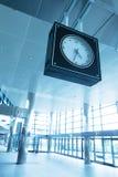 Ρολόι σταθμών Στοκ Φωτογραφίες