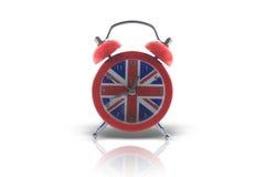 ρολόι συναγερμών αγγλικ στοκ εικόνα με δικαίωμα ελεύθερης χρήσης