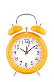 ρολόι συναγερμών κίτρινο Στοκ Φωτογραφία