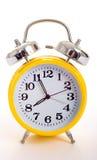 ρολόι συναγερμών κίτρινο Στοκ Εικόνες
