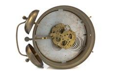 ρολόι συναγερμών μέσα στο μηχανισμό παλαιό Στοκ φωτογραφία με δικαίωμα ελεύθερης χρήσης