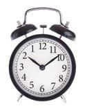 Ρολόι συναγερμών με το λανθασμένο πίνακα Στοκ Εικόνα