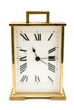 ρολόι συναγερμών χρυσό Στοκ φωτογραφία με δικαίωμα ελεύθερης χρήσης