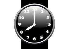 ρολόι σχεδίου Στοκ Εικόνες