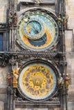 Ρολόι της Πράγας στοκ φωτογραφίες