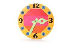 ρολόι χαρτονιού Στοκ εικόνες με δικαίωμα ελεύθερης χρήσης