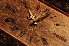 ρολόι 01 grunge Στοκ Εικόνες