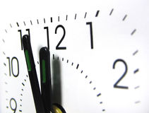 ρολόι 12 Στοκ Εικόνα