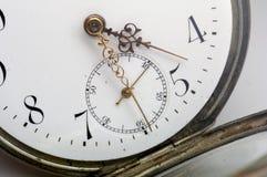 ρολόι 2 τσεπών Στοκ φωτογραφία με δικαίωμα ελεύθερης χρήσης