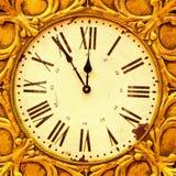 ρολόι grunge στοκ εικόνα
