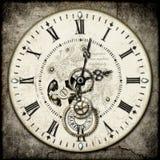 ρολόι steampunk Στοκ Εικόνα