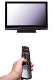 ρολόι TV Στοκ φωτογραφία με δικαίωμα ελεύθερης χρήσης
