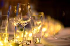 Ρομαντική γαμήλια οργάνωση πολυτέλειας γευμάτων στοκ φωτογραφία με δικαίωμα ελεύθερης χρήσης