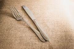 Ρομαντική καθορισμένη έννοια γευμάτων Στοκ Φωτογραφία