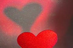 Ρομαντική μορφή καρδιών αγάπης Στοκ εικόνες με δικαίωμα ελεύθερης χρήσης