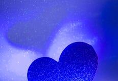 Ρομαντική μορφή καρδιών αγάπης Στοκ Εικόνες