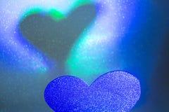 Ρομαντική μορφή καρδιών αγάπης Στοκ εικόνα με δικαίωμα ελεύθερης χρήσης