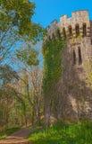 Ρομαντική πορεία γύρω από το κάστρο Στοκ Φωτογραφίες
