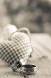 ρομαντικός άνευ ραφής ανασκόπησης Στοκ Φωτογραφία