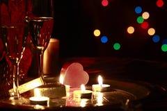 Ρομαντικός εορτασμός Στοκ εικόνα με δικαίωμα ελεύθερης χρήσης