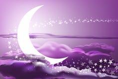 Ρομαντικός ουρανός Στοκ φωτογραφίες με δικαίωμα ελεύθερης χρήσης