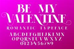 Ρομαντικός χαρακτήρας Πηγή πρόσκλησης ημέρας βαλεντίνων Στοκ φωτογραφίες με δικαίωμα ελεύθερης χρήσης