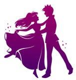 Ρομαντικός χορός Στοκ εικόνα με δικαίωμα ελεύθερης χρήσης