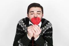 Ρομαντικό άτομο βαλεντίνων Στοκ Φωτογραφία