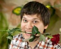 Ρομαντικό άτομο Στοκ Εικόνες