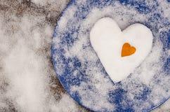 Ρομαντικό γεύμα για την ημέρα του βαλεντίνου στοκ εικόνα