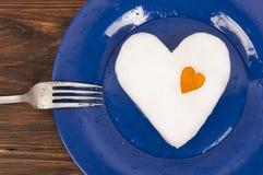 Ρομαντικό γεύμα για την ημέρα του βαλεντίνου στοκ φωτογραφίες